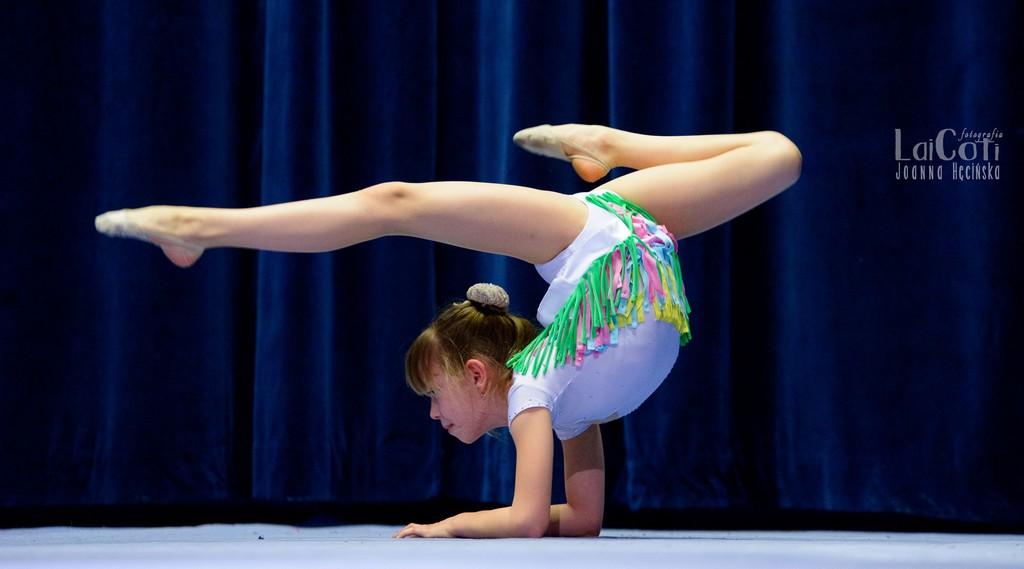 Gimnastyczki oczarowały publiczność