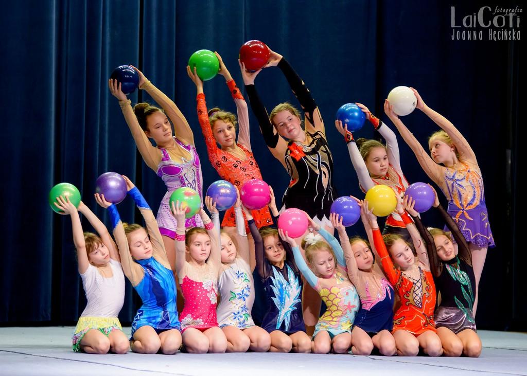Oleskie gimnastyczki w wojewódzkim finale
