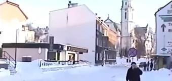 Powrót do przeszłości – Olesno zimą 2002 roku
