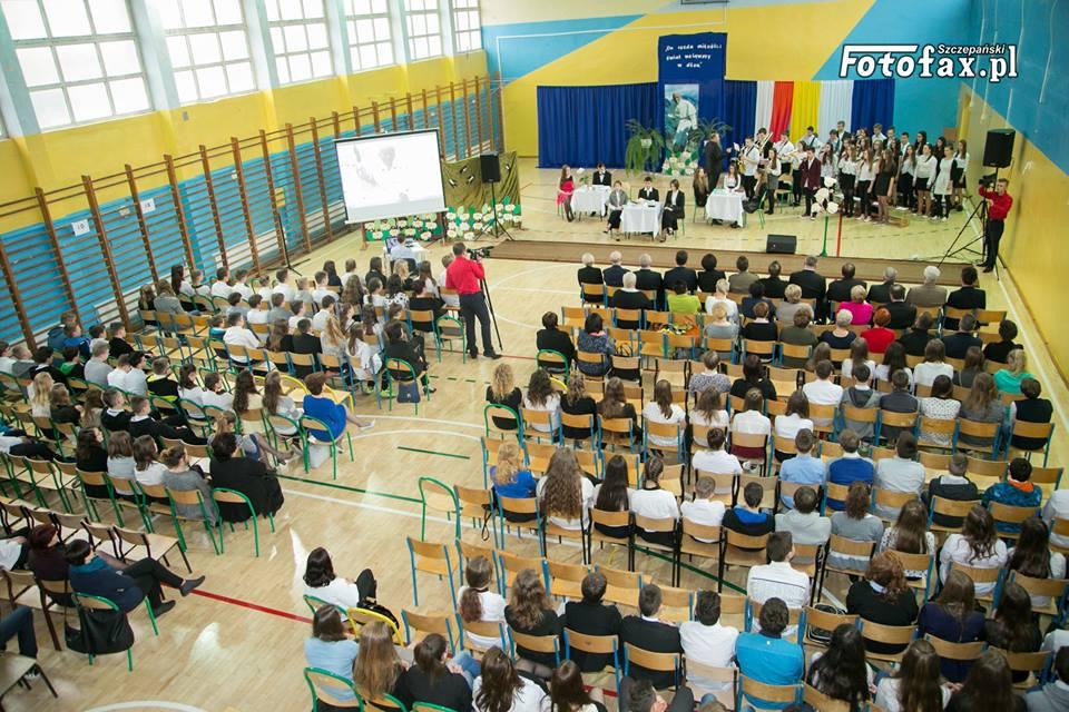 10-lecie nadania imienia Publicznemu Gimnazjum w Praszce