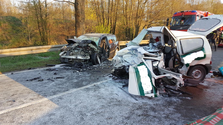 Śmiertelny wypadek w Janinowie