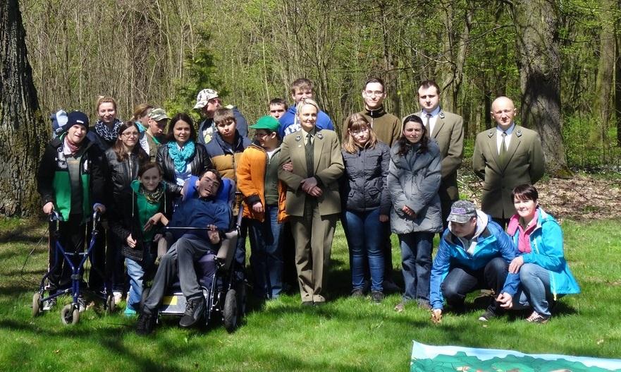 Dzień Ziemi uczczony przez leśników i uczestników ŚDS Sowczyce