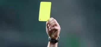Żółta kartka dla Dejów!