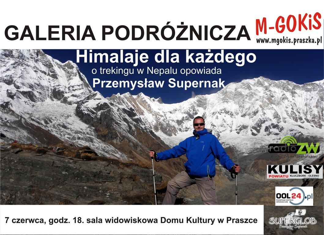 Himalaje dla każdego – Przemysław Supernak – Praszka