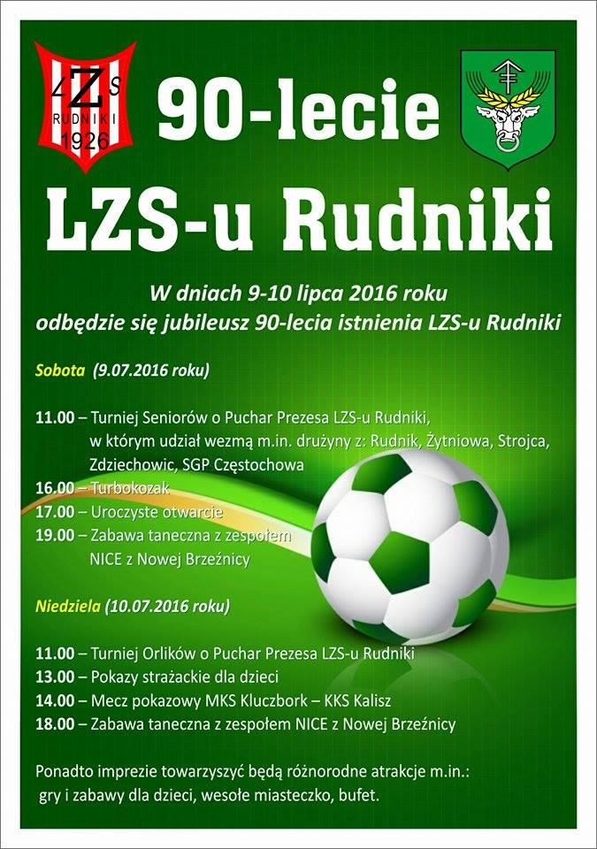 90-lecie LZS-u Rudniki