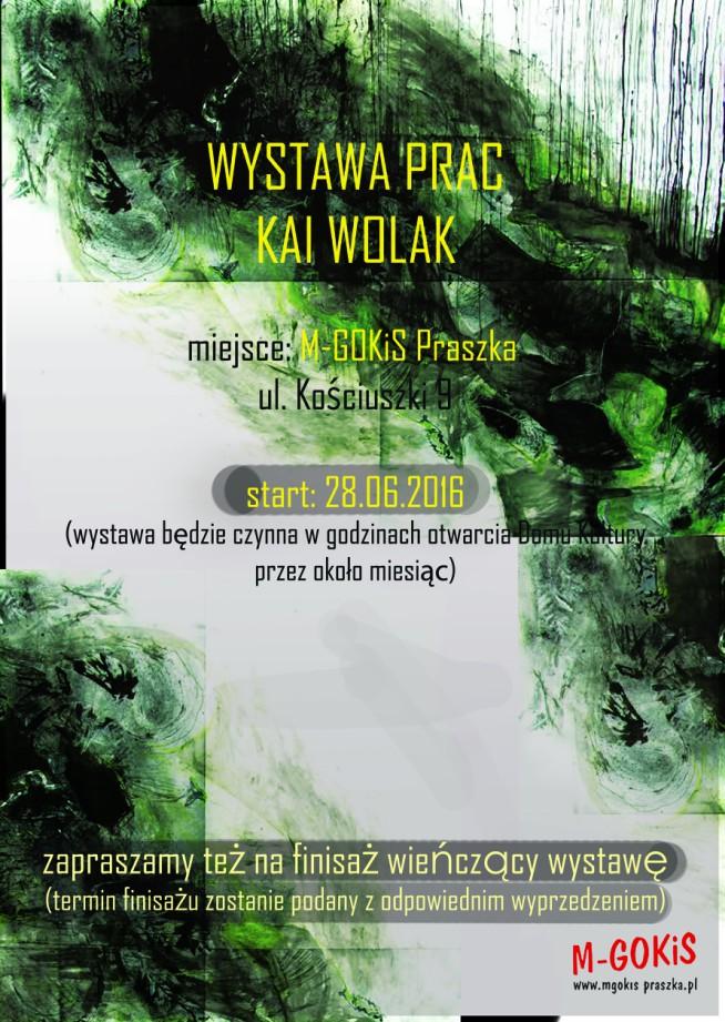 Wystawa prac Kai Wolak – Praszka