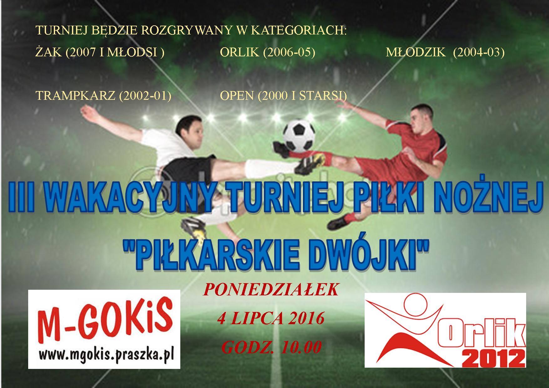 III Wakacyjny Turniej Piłki Nożnej – Praszka