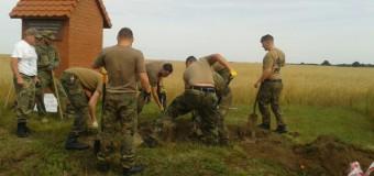 Ekshumacja niemieckich żołnierzy w Kadłubie Wolnym