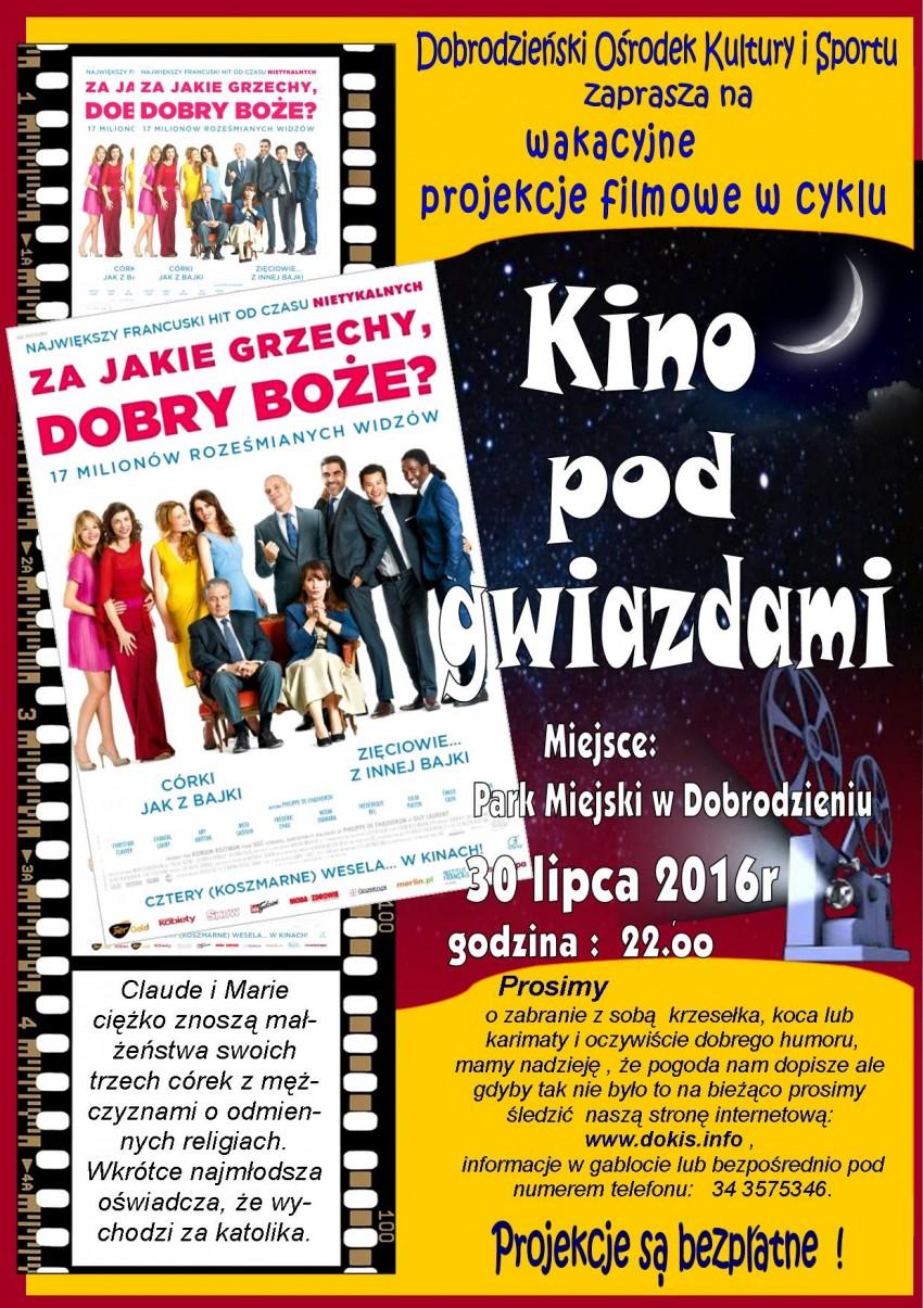 Kino pod gwiazdami – Dobrodzień