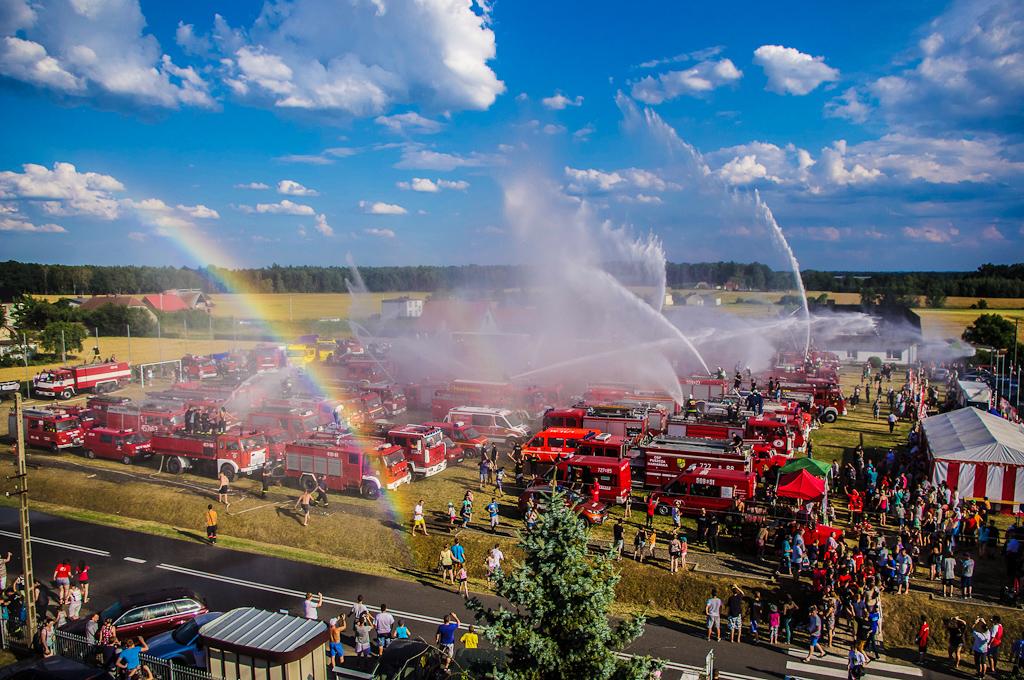 Kolejny rekord frekwencji na Zlocie Pojazdów Pożarniczych w Główczycach