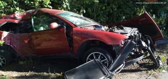 Wypadek na trasie Gorzów Śląski-Skrońsko