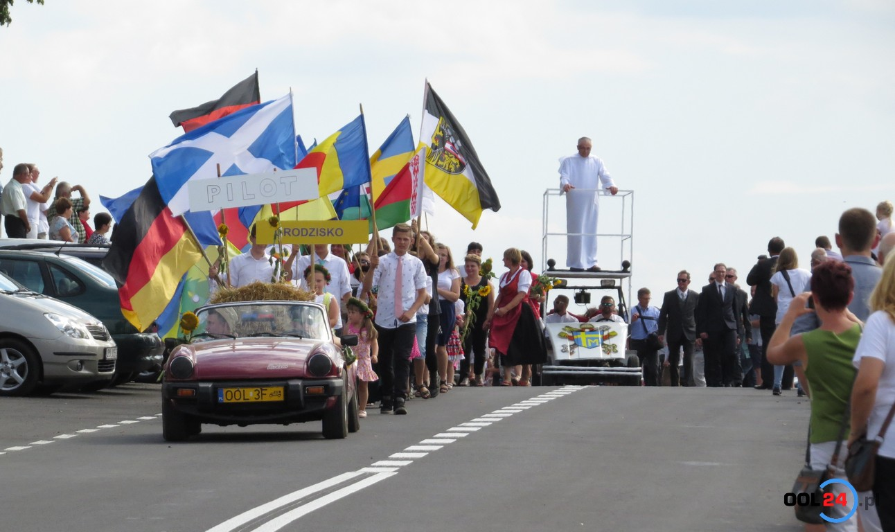 Papież na dożynkach w Grodzisku!