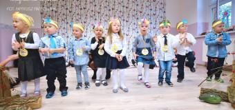 Pasowanie na przedszkolaka w Łowoszowie