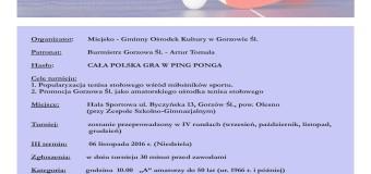 X Grand Prix Gorzowa Śląskiego – III runda