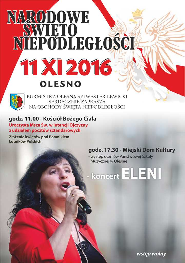 Narodowe Święto Niepodległości – Olesno