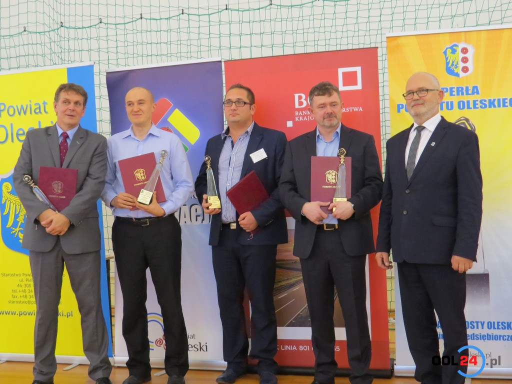 Perły Powiatu Oleskiego – przedsiębiorcy otrzymali nagrody