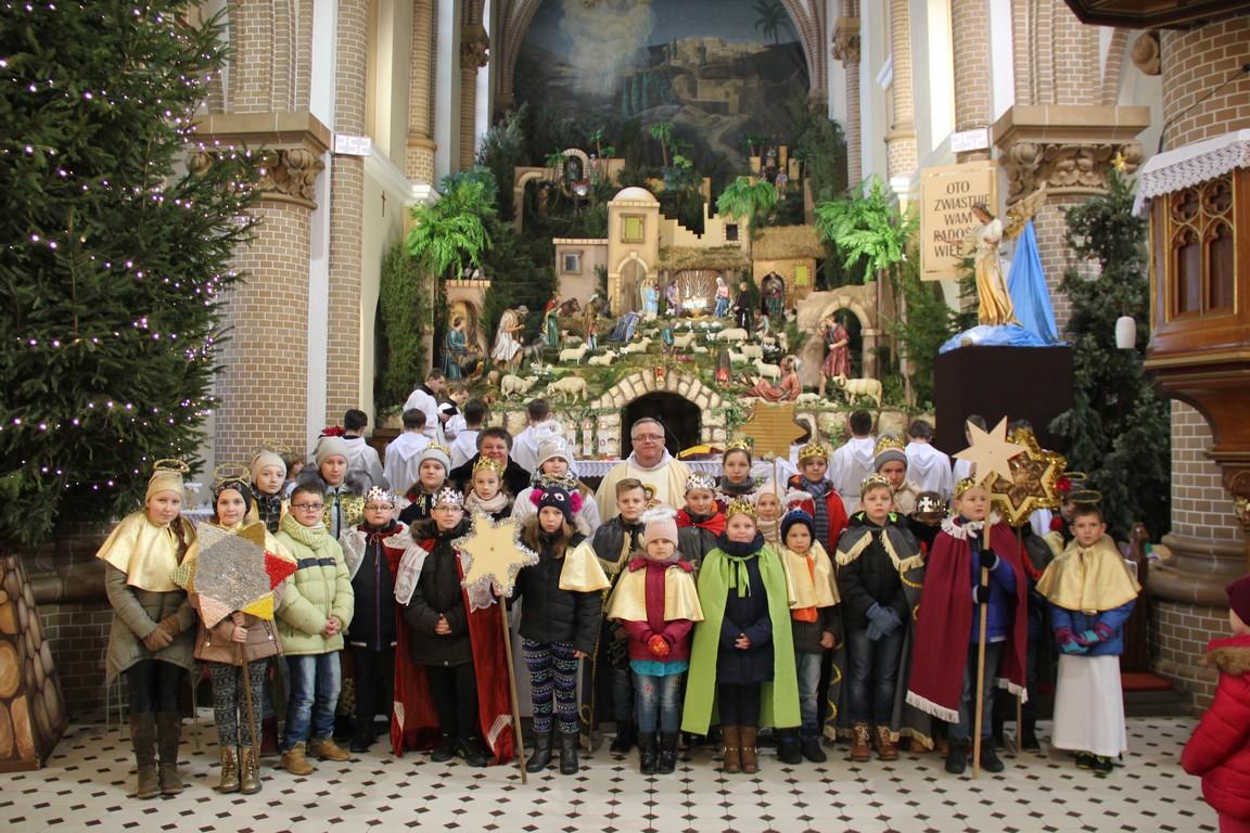 Kolędnicy misyjni w Borkach Wielkich