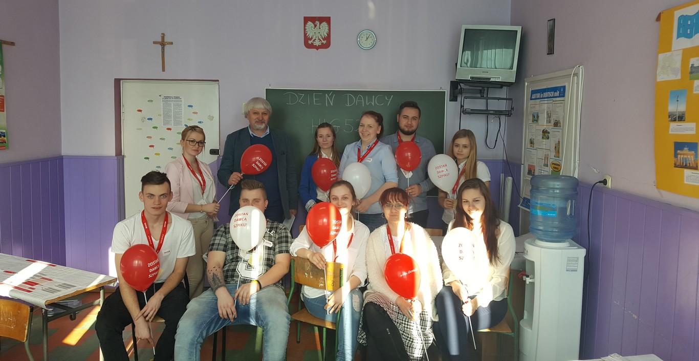 Dzień Dawcy z Fundacją DKMS w ZSZ Olesno
