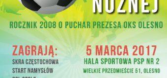 Turniej Piłki Nożnej o Puchar Prezesa OKS Olesno – Rocznik 2008