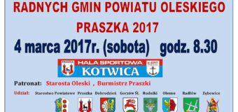 XIX Turniej Sportowy Radnych Gmin Powiatu Oleskiego – Praszka