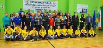 IV Ogólnopolski Turniej Nauczycieli i Pracowników Oświaty – Gorzów Śląski
