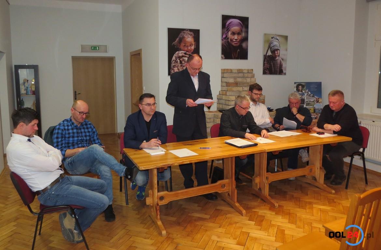 OKS Olesno z nowym-starym zarządem ma doczekać się remontu stadionu