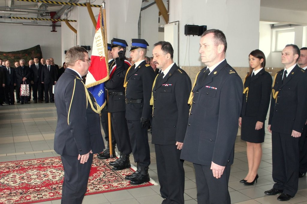 Komendant st. kpt. Wojciech Wiecha przeszedł na emeryturę