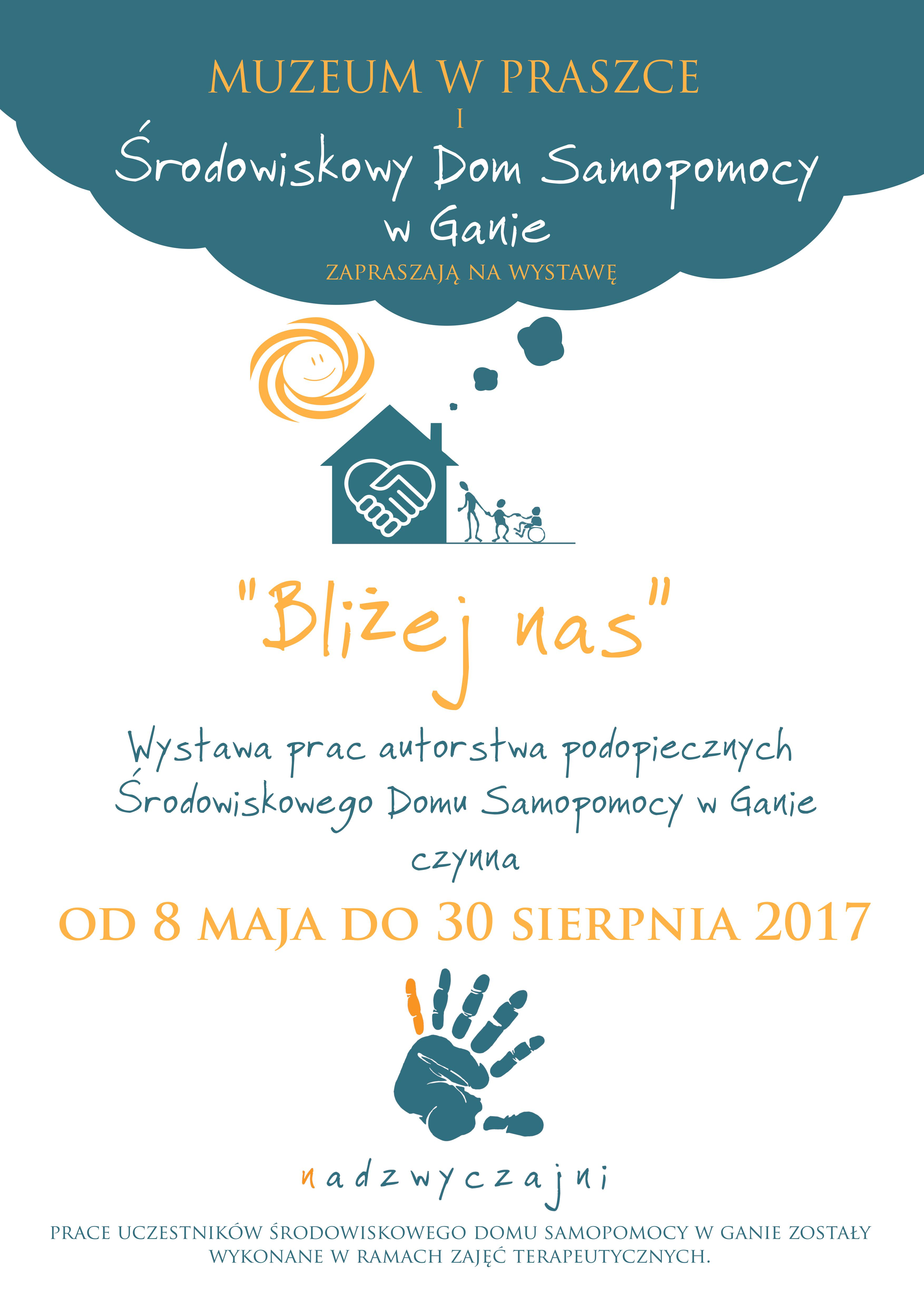 """""""Bliżej nas"""" – Muzeum w Praszce i ŚDS Gana"""