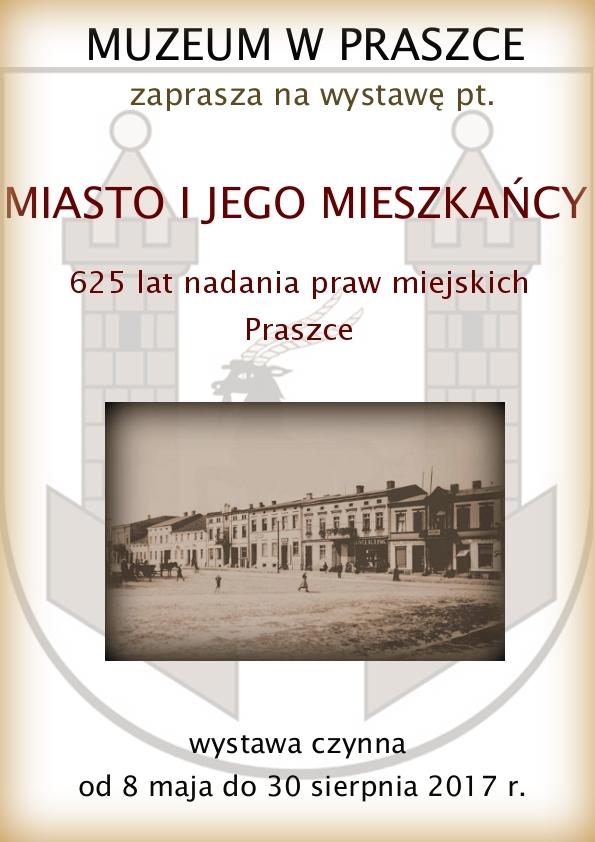 Miasto i jego mieszkańcy – Muzeum w Praszce