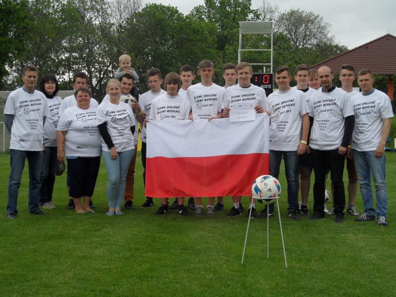 Zespół z Borek Wielkich na międzynarodowym turnieju