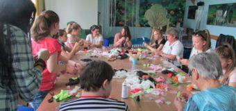 Uczniowie z Praszki pracowali z podopiecznymi ŚDS Gana