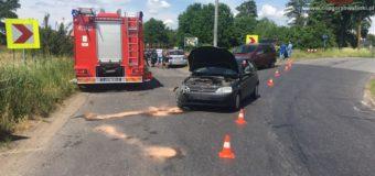Wypadek w Boroszowie. Kierujący nie ustąpił pierwszeństwa