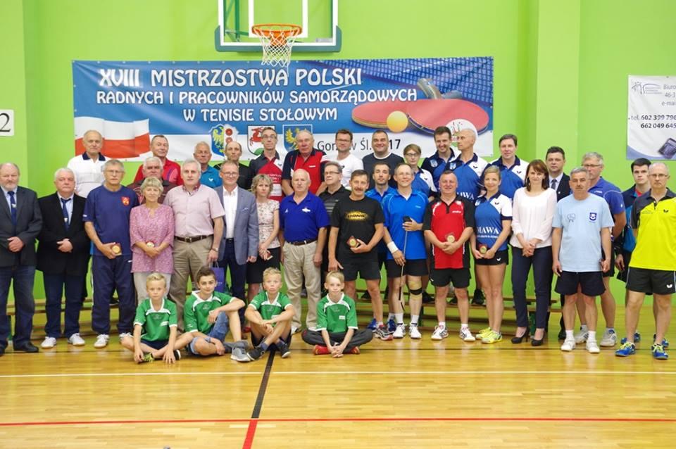 XVIII Mistrzostwa Polski Radnych i Pracowników Samorządowych – Gorzów Śląski