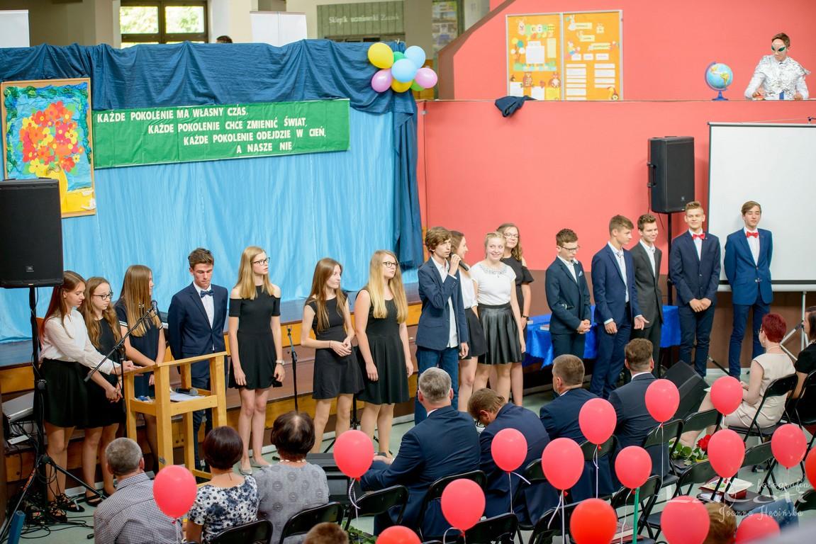 Pożegnanie absolwentów Publicznego Gimnazjum nr 2 w Oleśnie