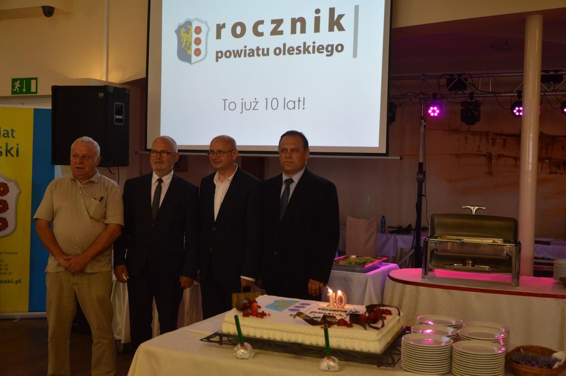 Rocznik Powiatu Oleskiego świętował 10-lecie!