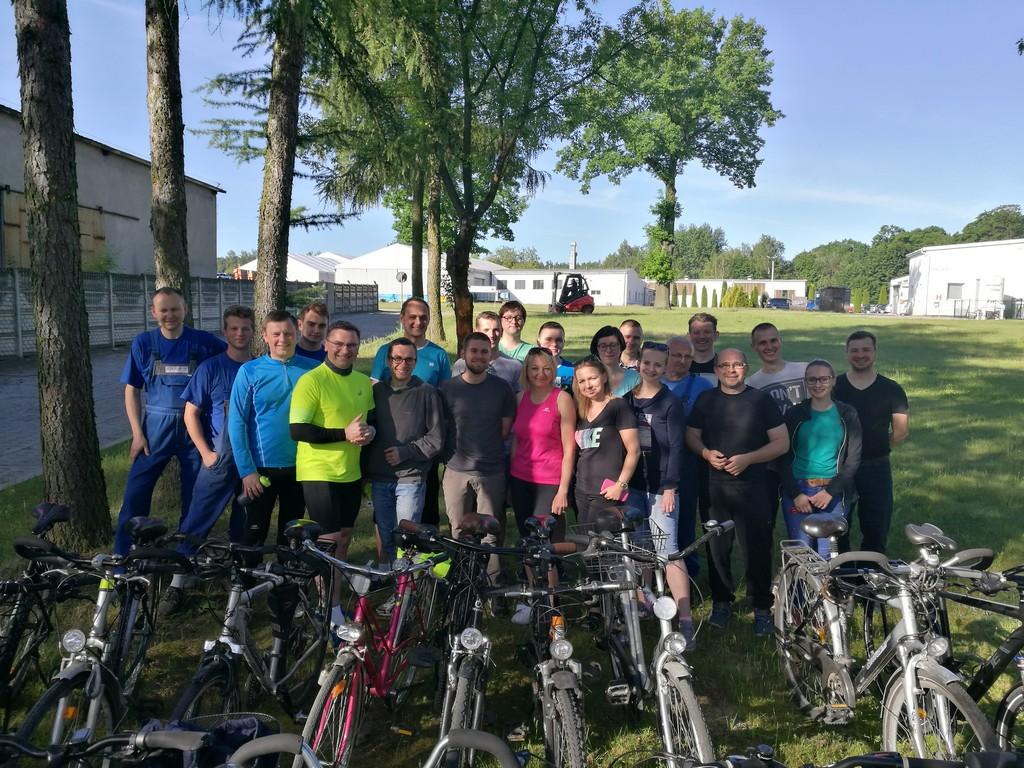 869 kilometrów jednego dnia – rowerowy rekord pracowników Nestro