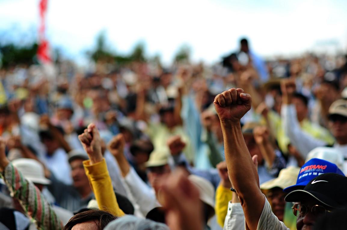 Niekoniecznie o powiecie (21) – Na ulicę! Na strajk! Za demokrację! Za rząd!