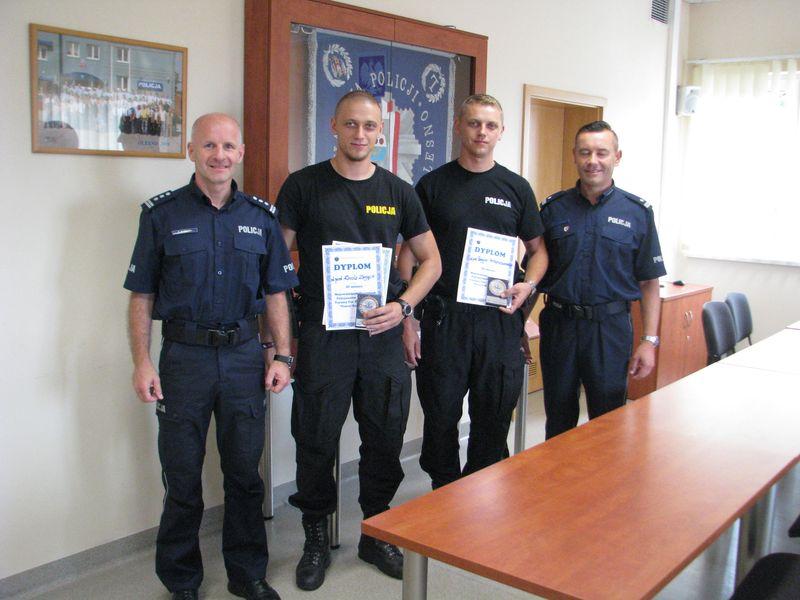 """Olescy policjanci na podium Turnieju """"Patrol Roku 2017"""""""