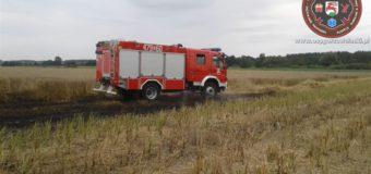 Żniwa w pełni – zwiększona ilość pożarów