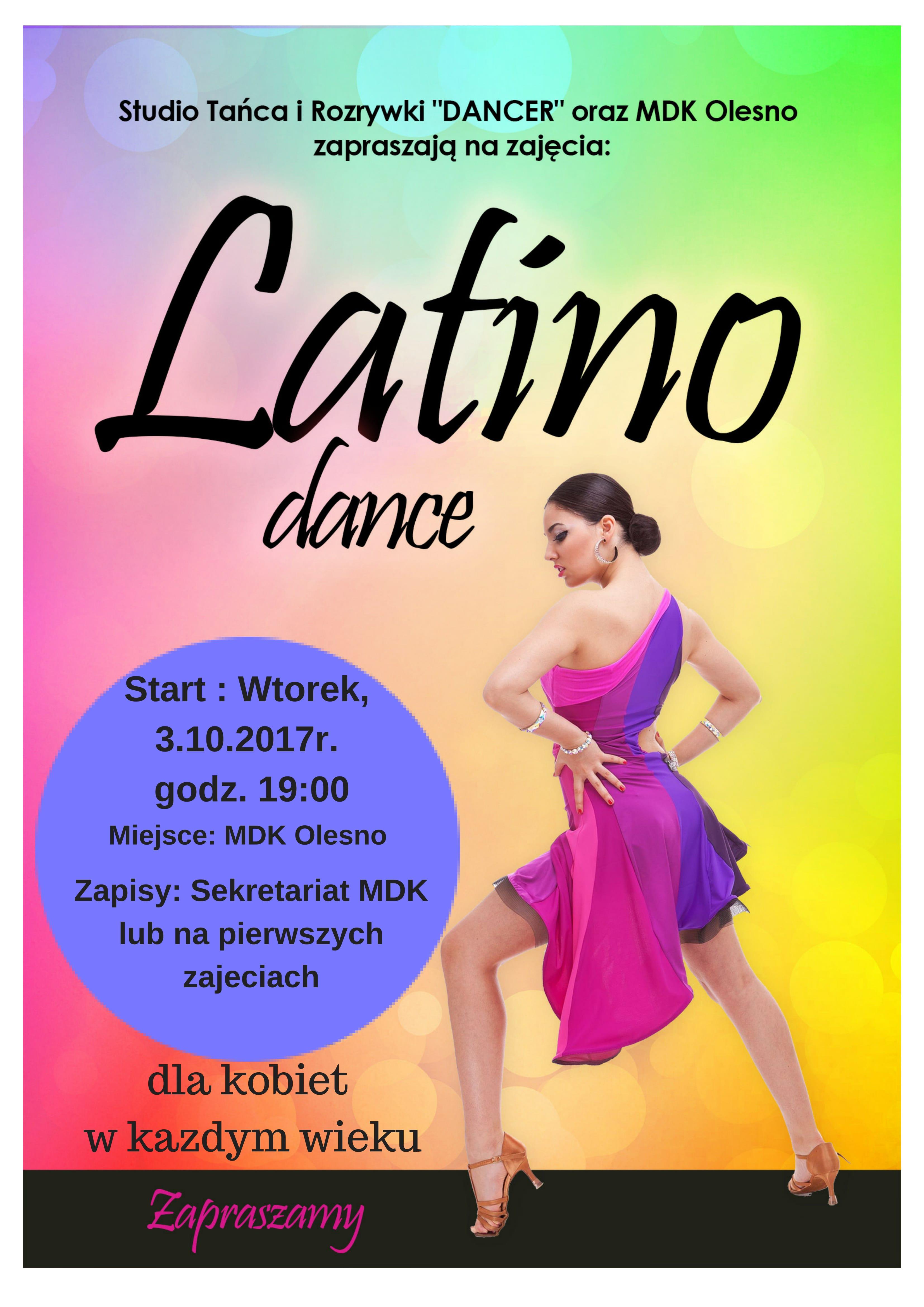 Miejski Dom Kultury w Oleśnie zaprasza na kursy tańca