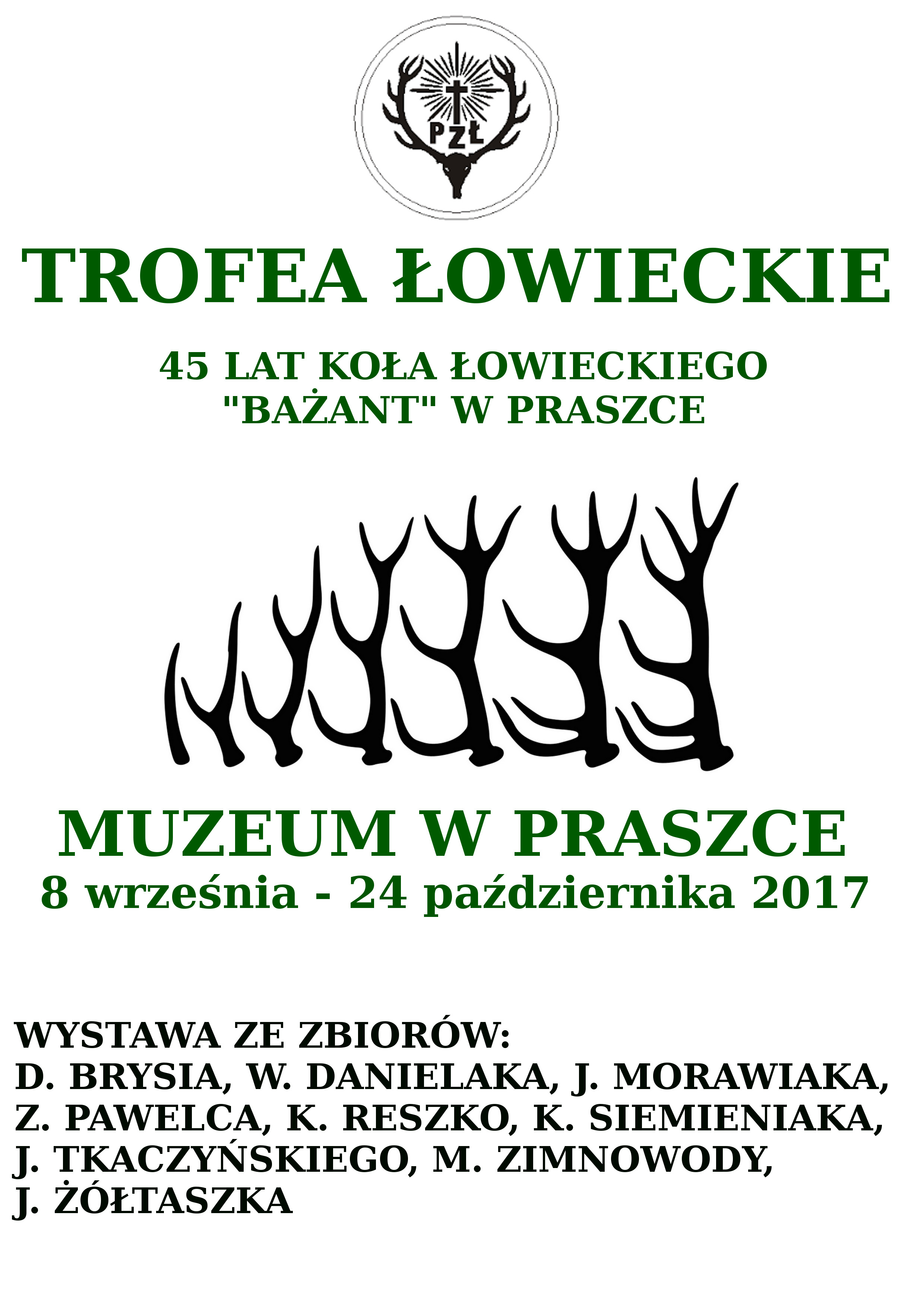 """45 Lat Koła Łowieckiego """"Bażant"""" w Praszce"""