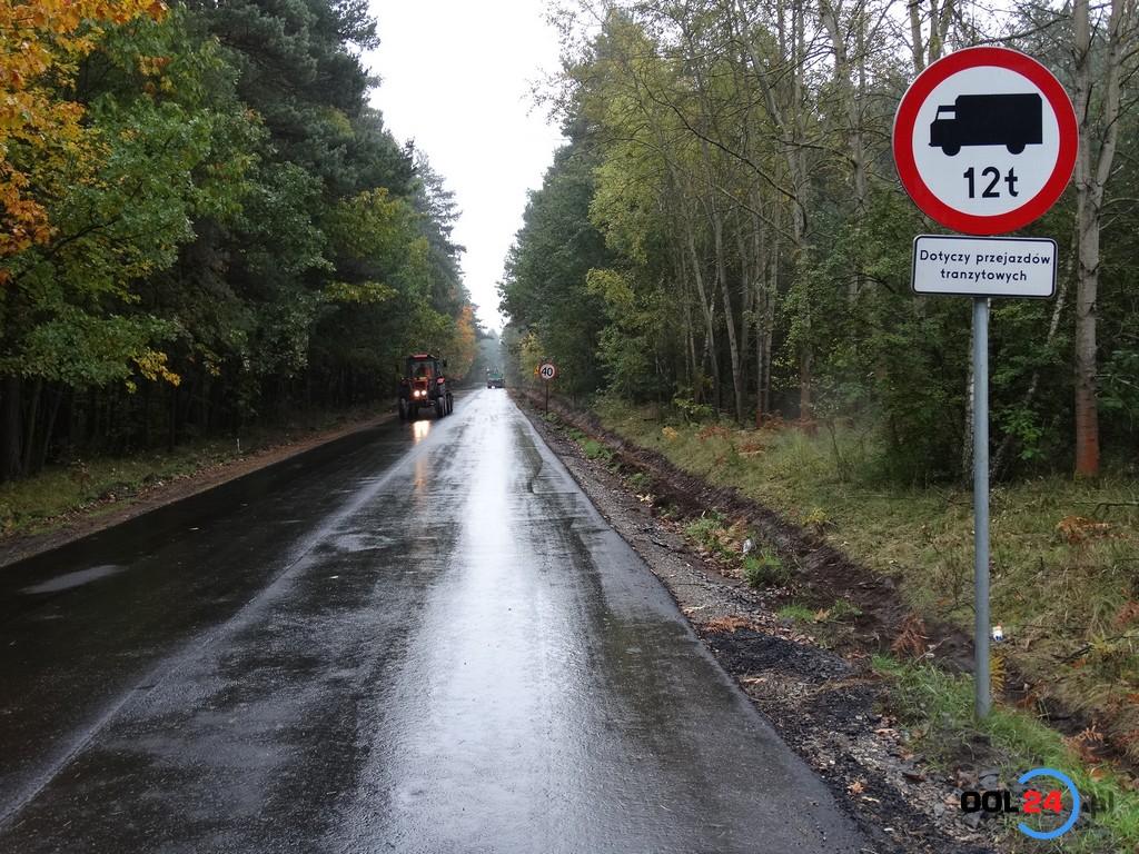 Droga Olesno-Kolonia Biskupska zamknięta na czas remontu