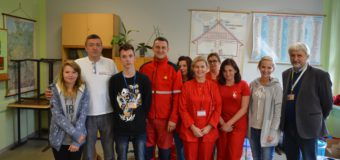 Rok szkolny krwiodawców z ZSZ w Oleśnie rozpoczęty