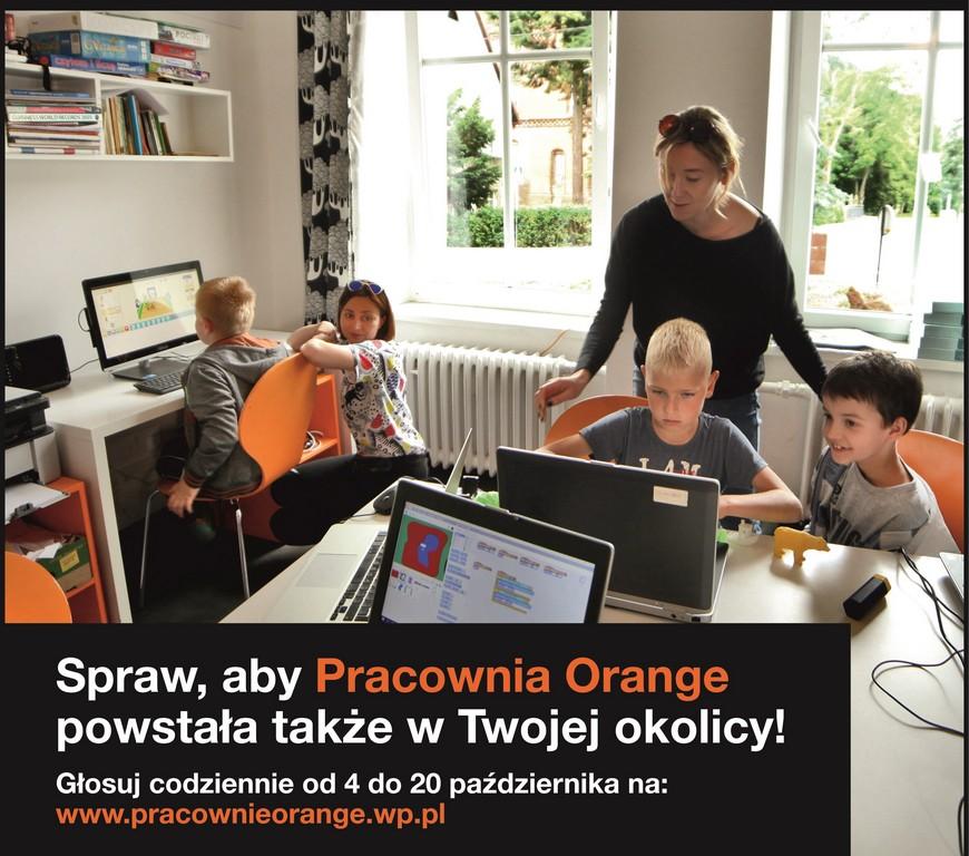 Pracownia Orange w Oleśnie – głosujemy!