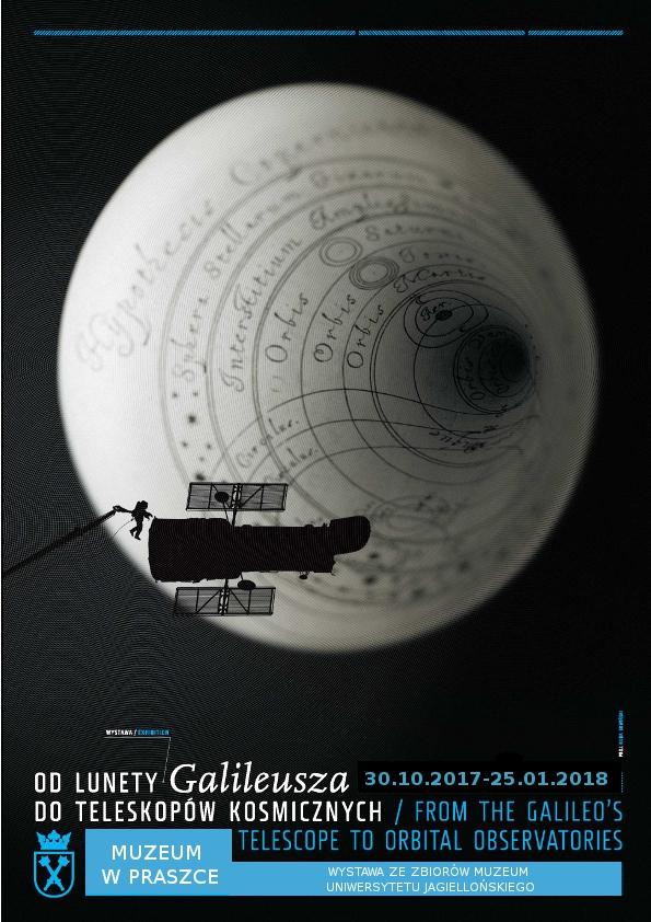 """""""Od lunety Galileusza do teleskopów kosmicznych"""" – wystawa Muzeum w Praszce"""