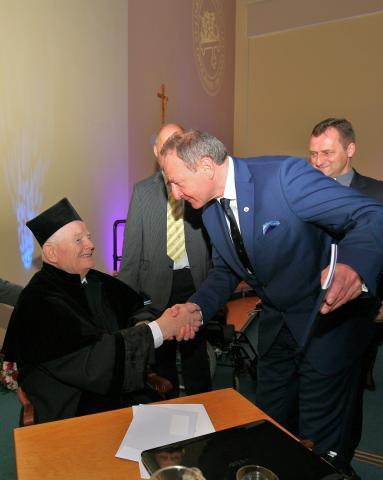 Profesor Franciszek Kokot doktorem honoris causa Uniwersytetu Opolskiego
