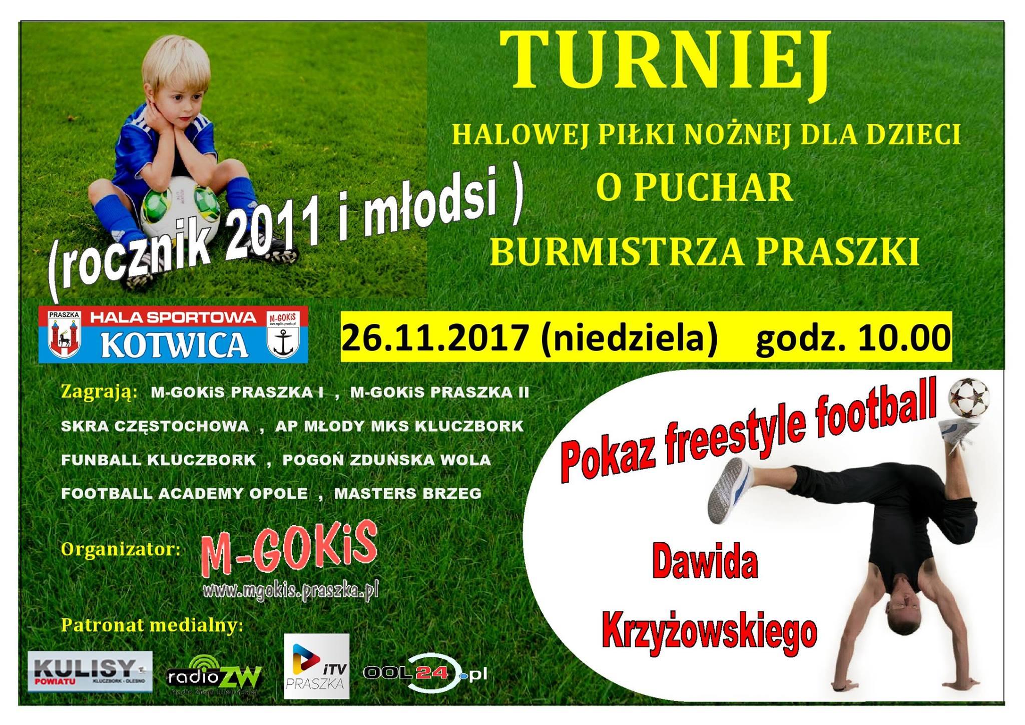 Turniej o Puchar Burmistrza Praszki