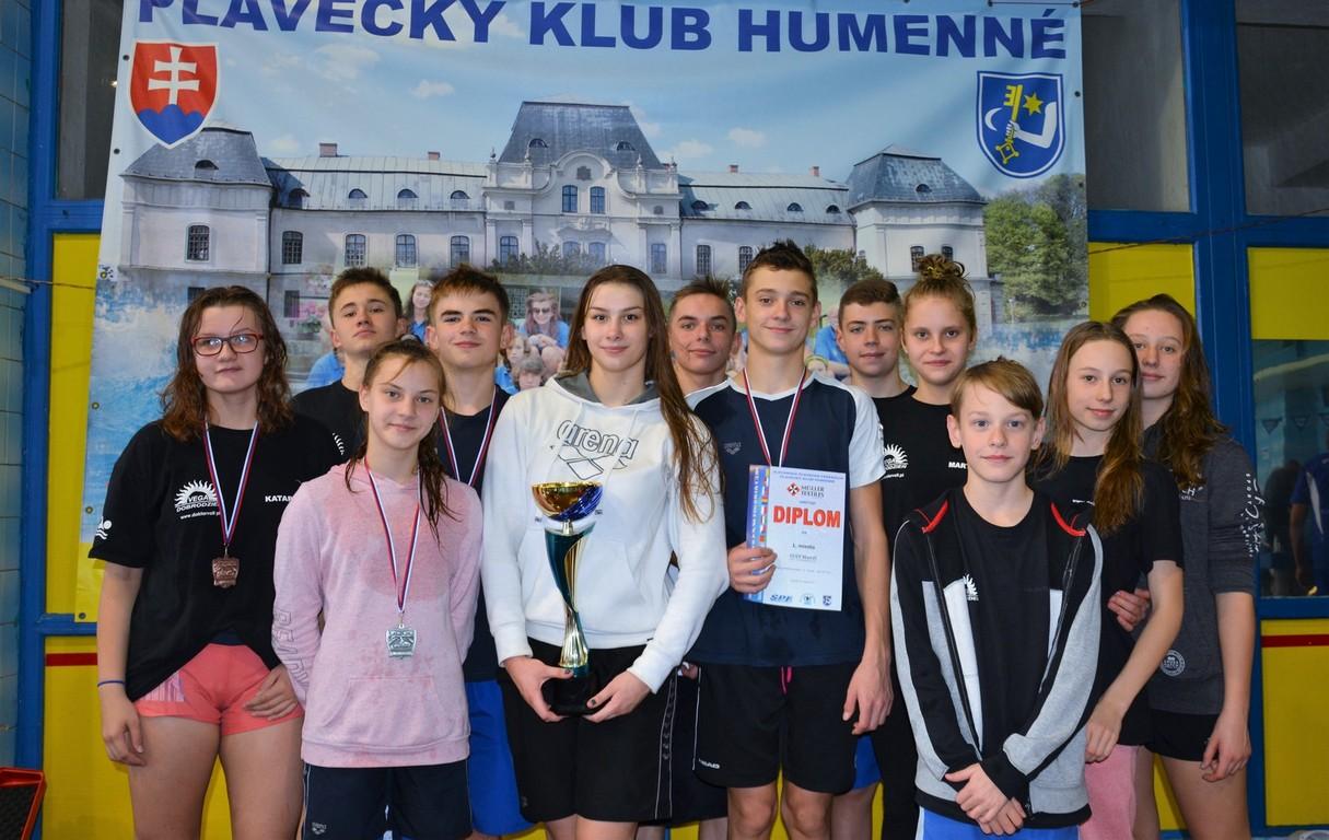 Pływacy Vega Dobrodzień ze Słowacji wrócili z workiem medali