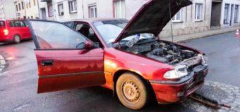 Kolizja trzech samochodów w Dobrodzieniu