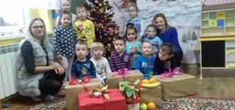 Świąteczna paczka od przedszkolaków z Ligoty Oleskiej